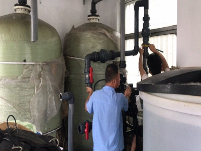 汇源大酒店80吨软化水设备