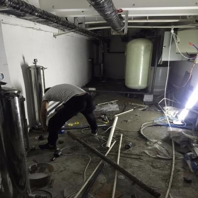 蒙城1中软化水设备