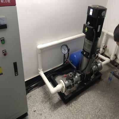 宿州市紧急救援中心无负压变频供水设备