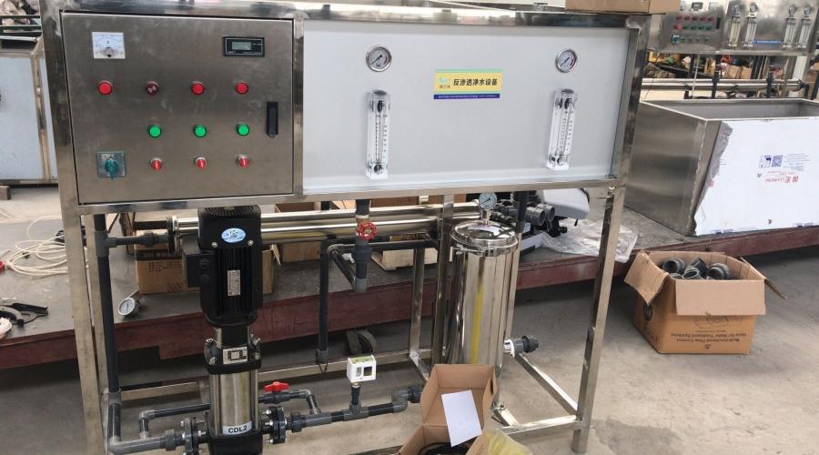 宿州天地阳光学校反渗透净水设备